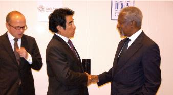 コフィー・アナン財団との選挙プロセス健全化 共同イニシアチブ(2010年~)